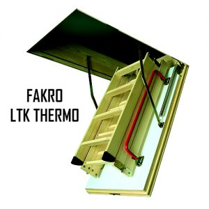 Чердачная лестница FAKRO LTK THERMO 60-120-280 - ZAVODKM