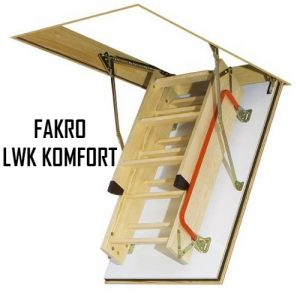 Чердачная лестница FAKRO LWK KOMFORT 70-130-325 - ZAVODKM
