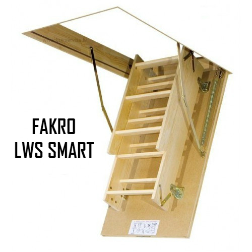 Чердачная лестница FAKRO LWS SMART 70-130-305 - ZAVODKM