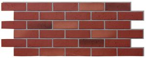 Фасадные панели BERG (ГОРА) - цвет Вишневый - ZAVODKM