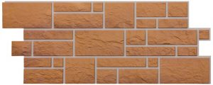 Фасадные панели BURG (ЗАМОК) - цвет Кукурузный - ZAVODKM