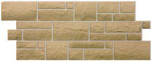 Фасадные панели BURG (ЗАМОК) - цвет Оливковый - ZAVODKM