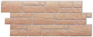 Фасадные панели BURG (ЗАМОК) - цвет Песчаный - ZAVODKM