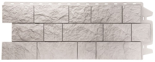 Фасадные панели FELS (СКАЛА) - цвет Горный хрусталь - ZAVODKM