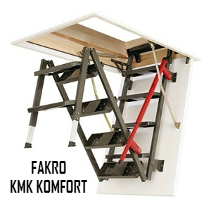 Чердачная лестница FAKRO LMK KOMFORT 60-120-280 — ZAVODKM