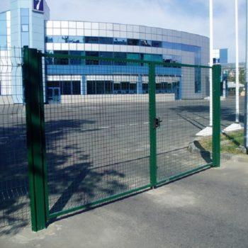 Ворота сетка сварная - Завод КМ