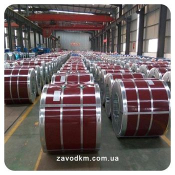 Рулонная сталь в Украине - ЗАВОД КМ