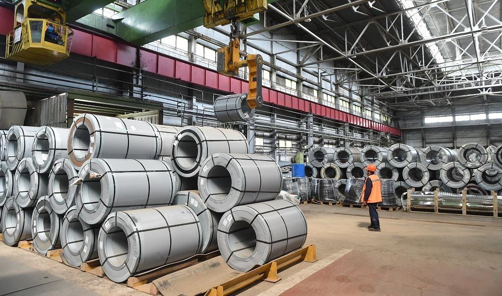 Гладкая сталь полимер Завод КМ